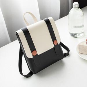 Горячая распродажа рюкзак одна сумка на плечо корейский версия 2020 новый цвет контрастный женская сумка маленькая свежая прекрасная универсальная уличная сумка популярна