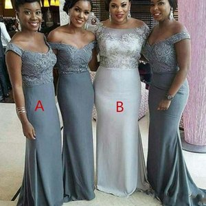 Arabic Sexy Off The Shoulder Bridesmaid Dresses 2021 Lace Beaded Mermaid Maid Of Honor Gowns Sweep Train Wedding Guest Party Dress AL7811