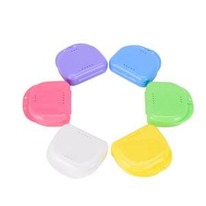 Boîtier de garde d'oréthodontie Dentaire Boîte de retenue en plastique Boîtier de bac de denticuler Boîte à dents Boîte à dents DTC4831