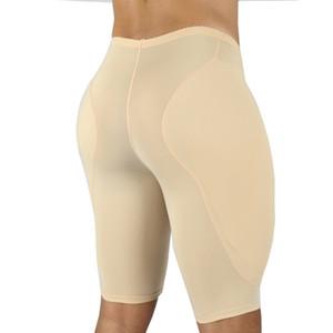 Hombres Body Shaper Cintura Traisor de cintura Alemán Trimmer Trimmer de muslo Pantalones cortos de compresión Esponja acolchada Fuerte Forma de ropa interior Modelado de la cintura