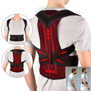 Corset Back Adjustable Adult Posture Corrector Therapy Shoulder Lumbar Brace Spine Support Belt Posture Correction For Men Women