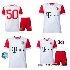 20 21 FC Utrecht Home New Football Suit 2020 2021 Camicia da calcio per bambini Utrecht Shirt da calcio per bambini Shirt personalizzata