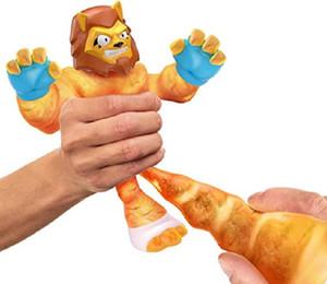 Hombre de goma Pinch Music Hero Super Elástico Muñecas Animales Discomensión Ventilación Juguete