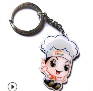 2020Bomgom Tassels Cartoon 11Popobe22 Gy Bear Keychain Cute Bag Charm Holder Cartoon Resin Key Chain Fo-K004-black