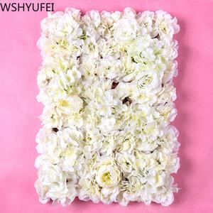 New three-dimensional imitation real flower wall wedding party props studio creative ornaments studio shooting props WSHYUFEI