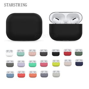 Original Case For Apple Airpods Pro Wireless Bluetooth Earphone Case Candy Color Box Soft silicone Cute Cover Air Pods Pro case