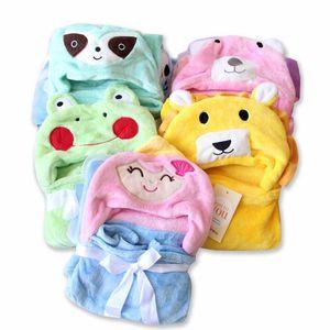 Baby Blankets Soft Fur Hooded Cartoon Bath Cloak Towel Infant Swaddle Stroller Wrap Newborn Bedding Sleepsake Blankets
