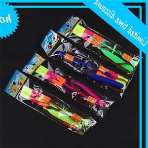 Hot Led Magic Toy Gomma Band Elicottero Frecce Volare Ombrello Flash Mushrooms 2000p Y91