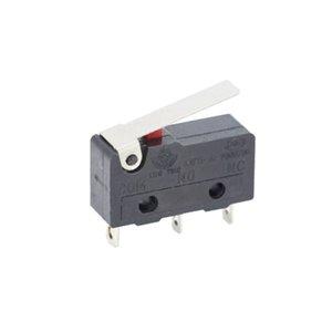 100 pcs / lote 3 pino / 2pin todo novo interruptor de limite 5A250Vac kw11-3z mini micro switch com máquina de laser da polia micro sensor de limite t200605
