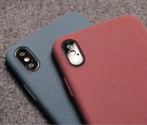 Cozy Plush Matt TPU phone case for iphone 12 Pro Max Fashion Creativity Protective Sand Texture Cover For iphone Xs Xr 11 8 7 Plus