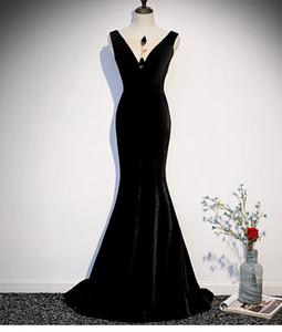 100%real black velvet v neck veil flower mermaid long dress cosplay stage performence studio can customs size