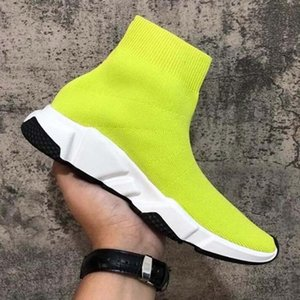 Cheap Platform Speed Trainer Mens Womens Sock Shoes Black White Red Men Women Top Quality Fashion Sneakers Casual Shoes SA1