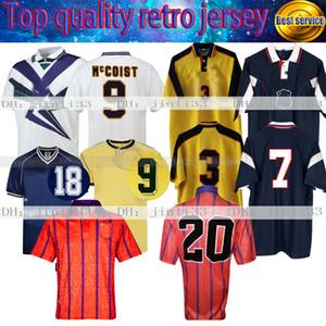 Rétro Scotland T Shirts Souness 1982 1986 1993 1994 Jerseys Soccerys Scottish Home Retro Football Shirt Mulgrew