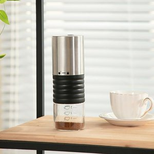 USB Аккумуляторная кофемена Портативная кофемолка керамическая заусечная моющаяся электрическая фасоль мельница автомобильная мельница регулируемая1