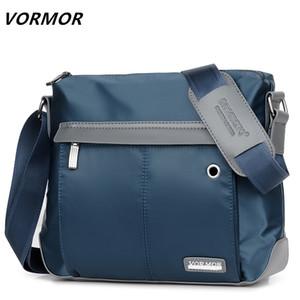 VORMOR Vintage Messenger Bag Men Shoulder Crossbody Handbag Male Bags Fashion Q1129