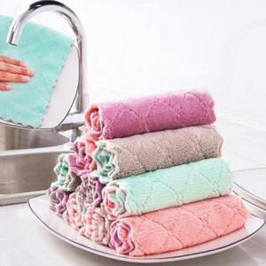 طبق القماش المطبخ مكافحة الشحوم وينغفشة الخرق كفاءة سوبر ماصة ستوكات التنظيف القماش غسل صحن المطبخ تنظيف منشفة GWC4582