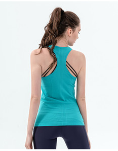 Sexy Sport Top Fitness Mujeres Yoga Camisa Gimnasio Deportes Sportswear Top Top Seco rápido Camiseta para Fitness Mujeres Sportswear Chaleco