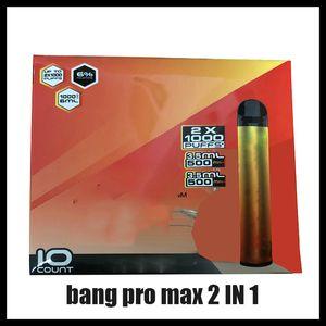 Nuevo Bang Pro Max Switch Vape desechable Pen 2 en 1 Dispositivo 7Ml PODS 2000 Puffs Bang XXTRA Doble 1100mAh batería Vape Vape Vacipe Pen vs Puff XXL