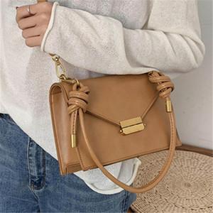 Luxusschloss PU Square für Frauen Tragbare Kleine Umhängetasche Freizeit Dame Designer Crossbody Postman Taschen SAC A HAUPT Q1119