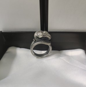 Top Quality Real Ring Three-dimensional Winding Snake Ring High Quality 925 Sterling Silver Personalized Ring Supply