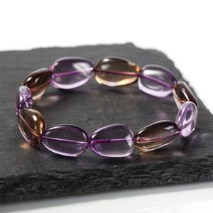 New Year gift with Amethyst Bracelet Topaz Bracelet beautiful Amethyst chain Topaz chain natural crystal bracelet