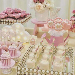 아이를위한 구름 유니콘 빛 어린 소녀 첫 생일 파티 베이비 샤워 크리스마스 웨딩 테이블 센터 피스 장식 호의 선물 200929