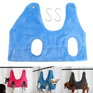 Dog Hammock Helper Dog Cat Grooming And Nail Trimming Pet Grooming Hammock Restraint Bag For Dogs Bathing Trimm bbyZUy