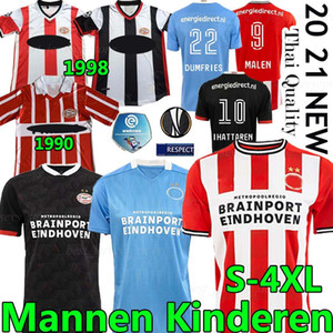 4XL PSV Eindhoven Retro Soccer Jerseys 20 21 1990 98 Zuhause Away Götze Malen Gakpo Ihattaren Dumfries Max Männer Kits Kinder Fußball Hemd Uniform
