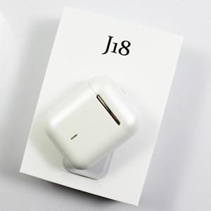 Top selling J18 TWS Bluetooth Earphones Headphone HD Call HIFI Sound Auto pairing waterproof sport j16 wireless Earsets Earbuds PK i12 i11