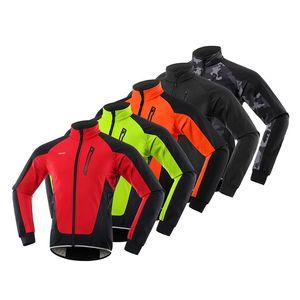 Autumn And Winter Composite Fleece Cycling Wear Blazer Weather Proof Outdoor Keep Warm Hygroscopic Coat Fiber Blend