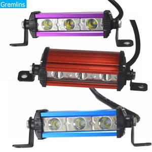 4 Inch 3 Led 9W Fog Light Work Light Lamp for Motorcycle Offroad Running Lights For SUV