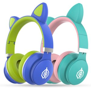 Wireless Headphones Bluetooth Earphones Cat Ear Bluetooth Headset Gaming Headphone For PC Xaomi Huawei Samsung Fone De Ouvido