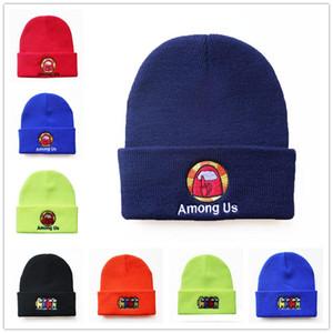 Gioco di spedizione DHL tra noi Cappello a maglia con cappuccio a maglia Fumetto Tra Stati Uniti Gioco Hip Hop Hat Tenere il regalo caldo dei cappucci del partito