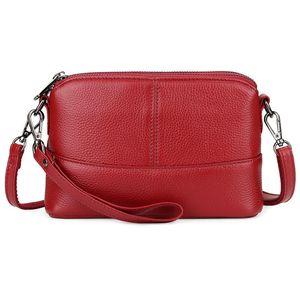 Luxury Blue Purple Black Red Genuine Leather Summer Bags For Women 2020 Messenger Handbags Ladies Shoulder Crossbody Purses