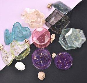 Diy Crystal Epoxy Resin Mold Storage Box Molds Jewelry Box Mold Jewelry Making Tools Gif jllLRN mywjqq
