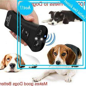 3 في 1 ULTRASONE PROLELER CONTRONER TRAINER DOG DOG Anti-Barking Stop Bark Deving Pet Training