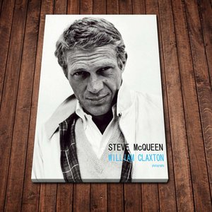 Modern Canvas Painting Abstract Steve Mcqueen Hair Cut Posters Prints Wall Art Picture for Living Room Home