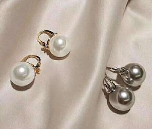 Hot selling explosion-proof simple pearl pendant wild designer earrings luxury designer jewelry women earrings