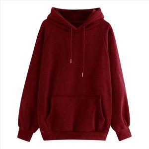 Oversized Sweatshirt Women Tops Hoodie Warm Streetwear Red Black Gary Women Hoody Printing Letter Harajuku Ladies Clothes