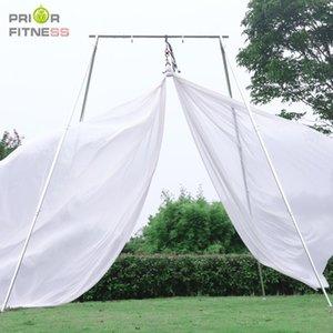 Aerial Silks Beginner Fabric 11Yards 10M Acrobatic Flying Dance Yoga Silk Aerial Yoga Hammock Swing for Bodybuilding