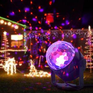 15 color LED crystal small magic ball light mini stage light,Can be used for weddings, birthday parties, Christmas,bars, stage performances