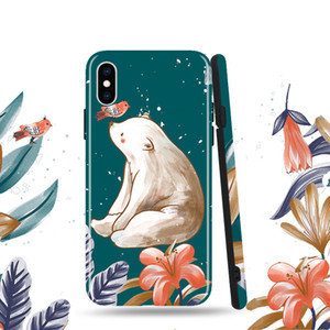 IMD Craft Mobile Phone Case Soft Shell All-Inclusive Frosted Suitable For Apple 12 Glossy Protective Case C Trend Mobile Phone Case