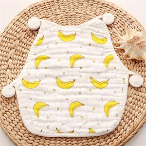 1pc Baby U-shaped Bib New 3 Styles Available Soft Cotton Baby Cotton Comfortable Saliva Towel