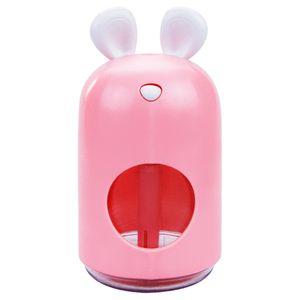 Fare Sevimli Su Kaynağı Enstrüman Mini Masaüstü Araç Sessizlik Sprey Hava Nem Nemlendirici USB 250 ml Atomizer Arıtma Yaratıcı 23YF M2