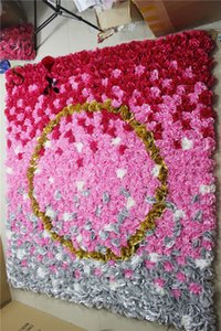 SPR Word-O Dahlia 2.4*2.4m Free Shipping 10pcs lot yiwu factory flower wall wedding backdrop artificial arrangements