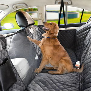 Dog Car Seat Cover Waterproof Pet Transport Dog Carrier Car Backseat Protector Mat Car Hammock For Small Large Dogs