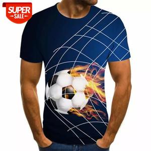 2020 new 3d t shirt Tee Casual Top Camiseta Streatwear Short Sleeve fire print summer tshirt Men's t-shirt XXS-6XL #Ze1g