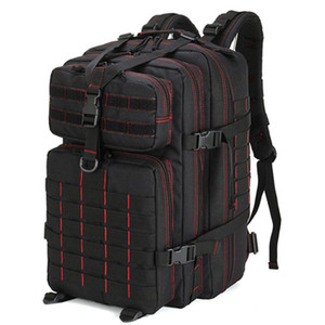 Men Army Tactical Backpack 50L 3P Softback Molle Rucksack Outdoor Fishing Hiking Hunting Waterproof Large Capacity Bag