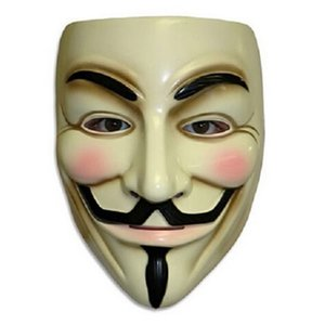 costume Cosplay Halloween New Guy Fawkes V FOR Vendetta Anonymous Adult Party mask decorations