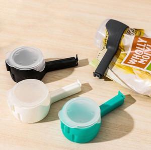 ختم الغذاء مقاطع ختم صب الأطعمة حقيبة التخزين كليب التحكم كبير التفريغ فوهة حقيبة التخزين المشبك تخزين أدوات الغذاء DHB3853